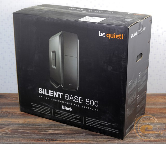 be quiet! SILENT BASE 800