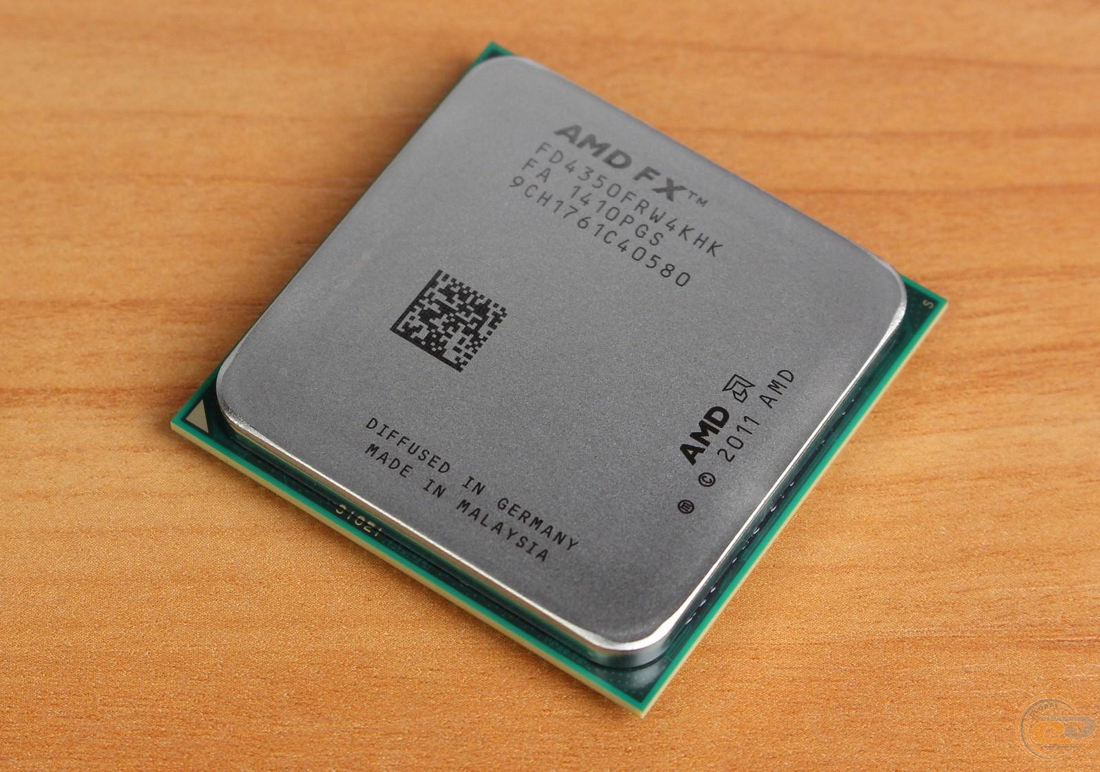 GECID.com: CPU AMD FX-4350: review and testing: Print version