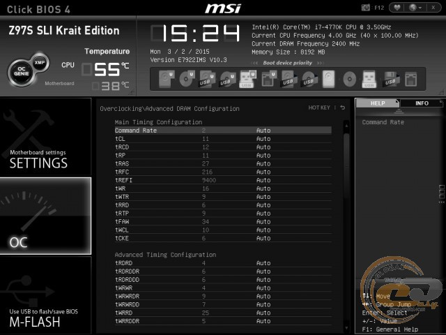 MSI Z97S SLI Krait Edition
