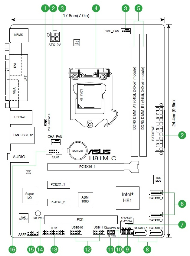 Motherboard Asus H81m C Review And Testing Page 1 Gecid Com