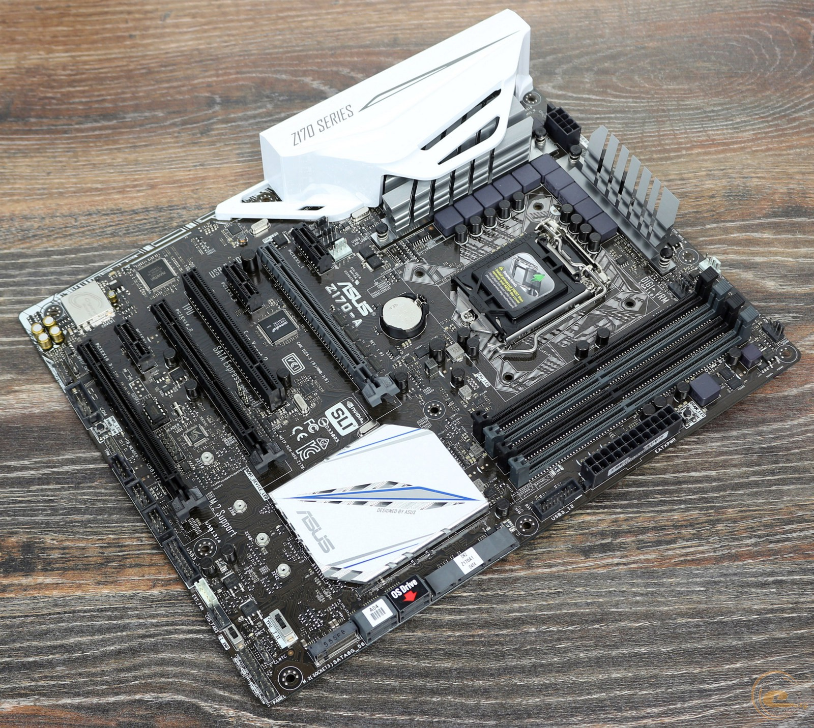 GECID.com: Motherboard ASUS Z170-A: review and testing: Print version