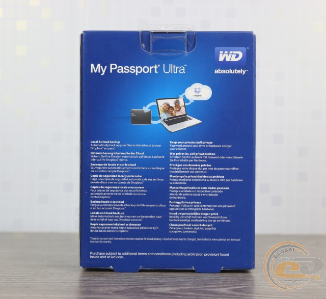 WD My Passport Ultra (WDBPGC5000ABL)
